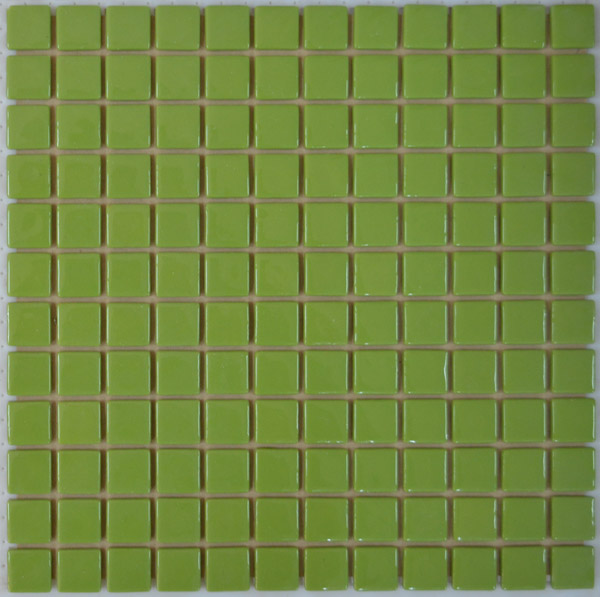 Мозаика интерьерная стеклянная Салатная FL-M-054