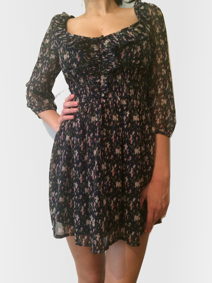Платье летнее Stradivarius за 490 рублей!