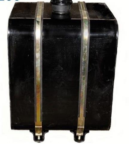 Масляный бак боковой 60 литров