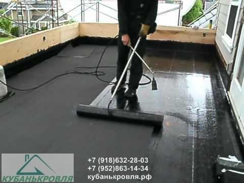 Монтаж и ремонт кровли наплавляемыми материалами в Краснодаре и Краснодарском крае.
