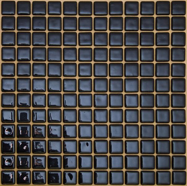 Мозаика Черная стеклянная FL-M-023