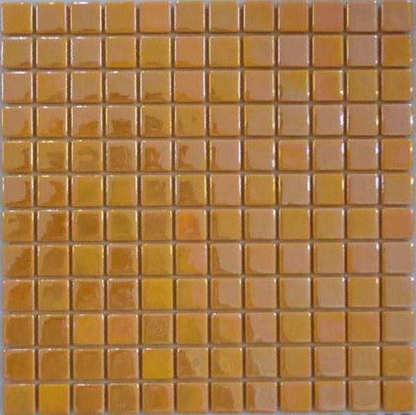 Стеклянная мозаика Оранжевый перламутр PRL-S-060
